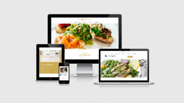 Small Business catering website