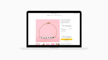 Small Business website for Jewelry customization
